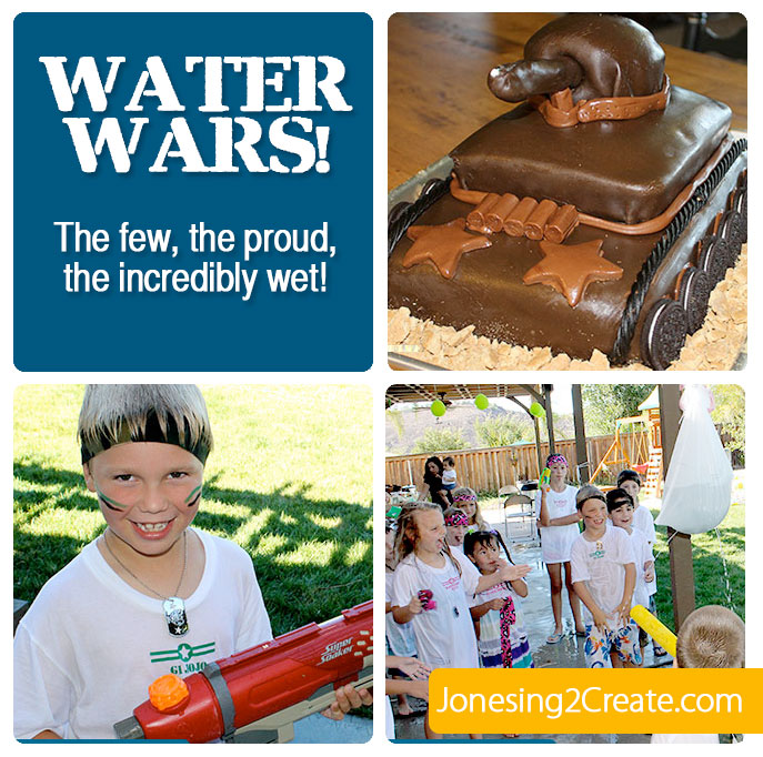 Water Wars: The Ultimate Army Water Birthday Party