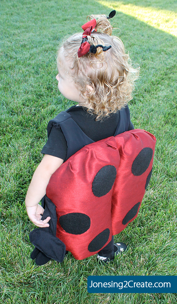 toddler ladybug Halloween costume