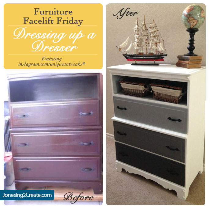 repaint an old dresser