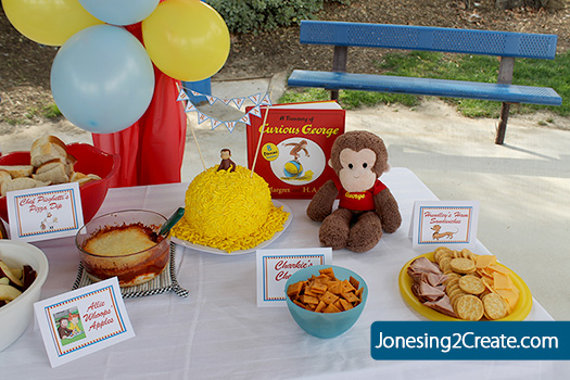 curious-george-food & Curious George Birthday Party - Jonesing2Create