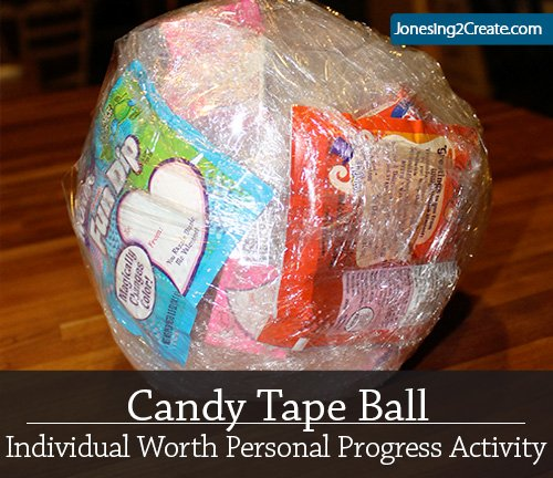 Candy Tape Ball Individual Worth Personal Progress Activity