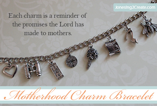lds gifts motherhood charm bracelet