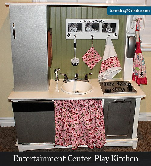 Entertainment Center Kitchen Set: Entertainment Center Play Kitchen