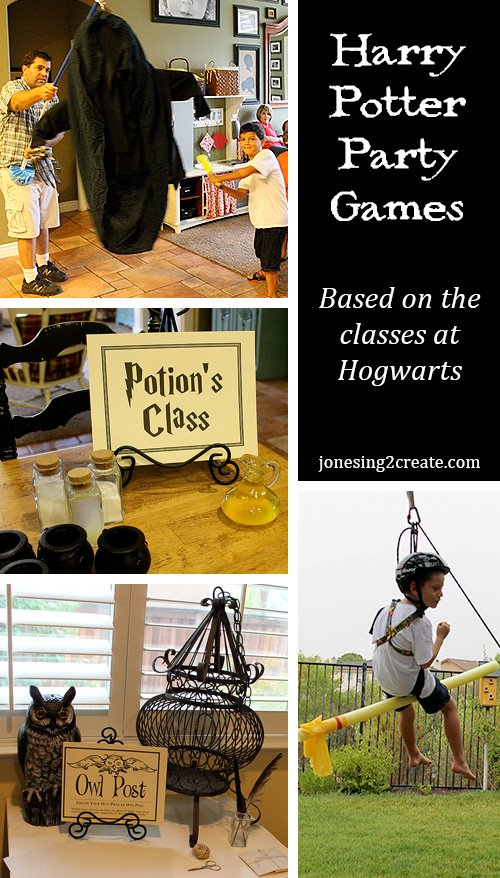 Harry Potter Party Game Ideas