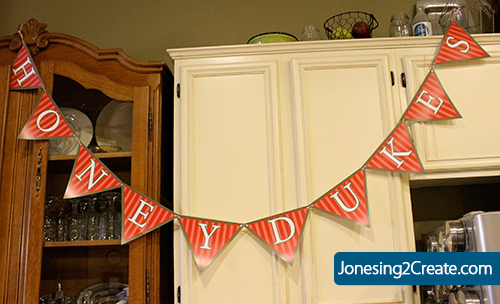 photo relating to Honeydukes Sign Printable named Recreating Honeydukes for a Harry Potter Get together - Jonesing2Build