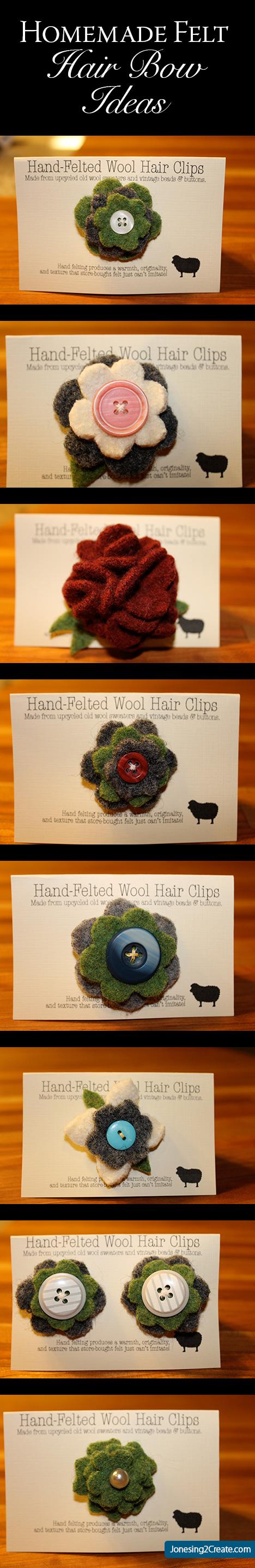 Homemade-Felt-Hair-Bows