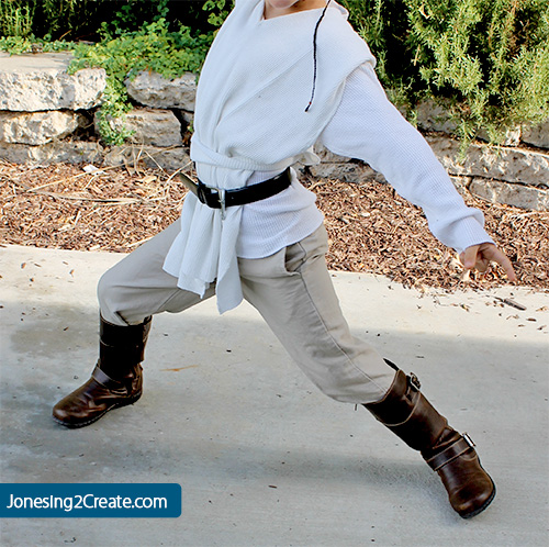 Jedi obi wan kenobi costume jonesing2create for Obi easy pool