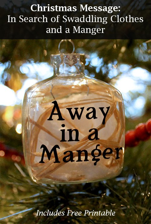 Visiting Teaching Christmas Message, Ornament and Printable