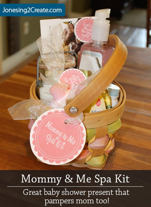 Spa Baby Shower Gift