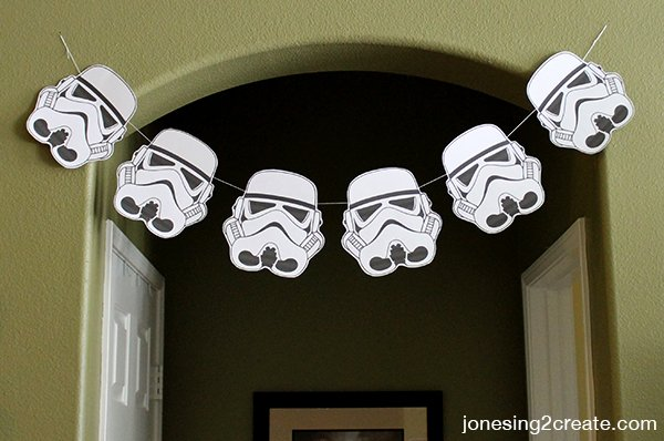 star wars banner - Star Wars Party Decorations