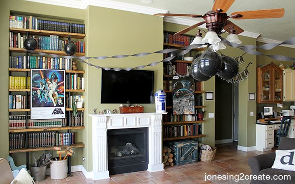 star wars party decorations - Star Wars Party Decorations