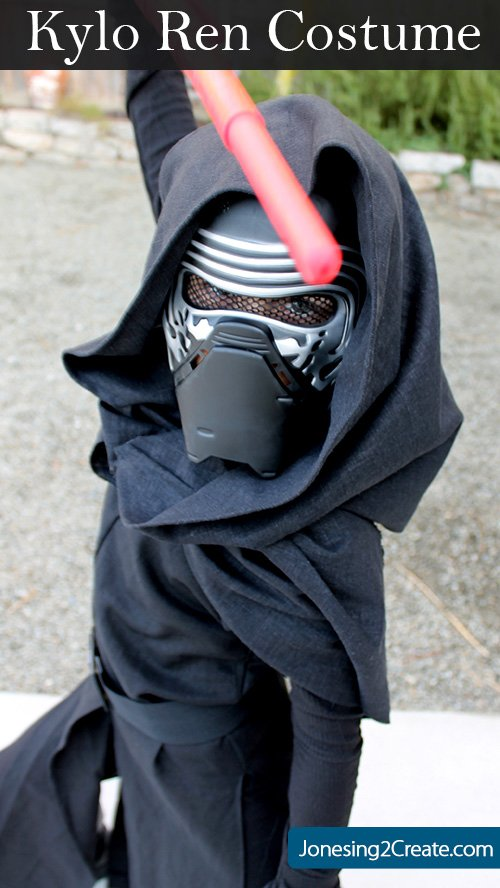 Homemade Kylo Ren Kids Costume