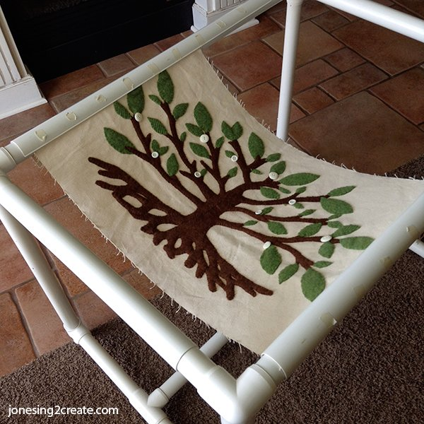 Felt Tree Of Life Applique Jonesing2create