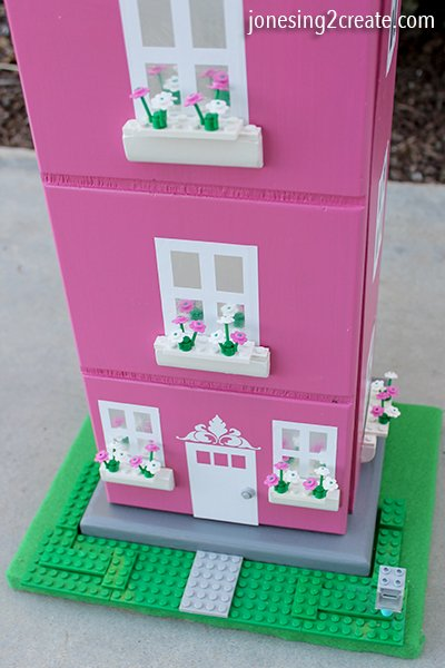 How To Repurpose An Old Cd Tower Into A Lego Dollhouse
