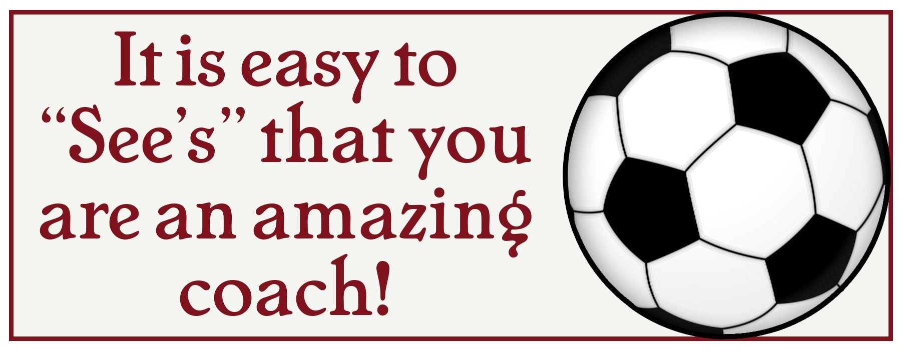 Download Free Soccer Coach Appreciation Gift Printable  sc 1 st  Jonesing2Create & Seeu0027s Chocolate Soccer Coach Appreciation Gift Idea - Jonesing2Create