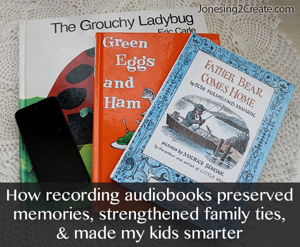 How recording audiobooks preserved memories, strengthened family ties, and made my kids smarter