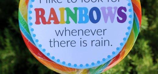 LDS Baptism Rainbow Printable