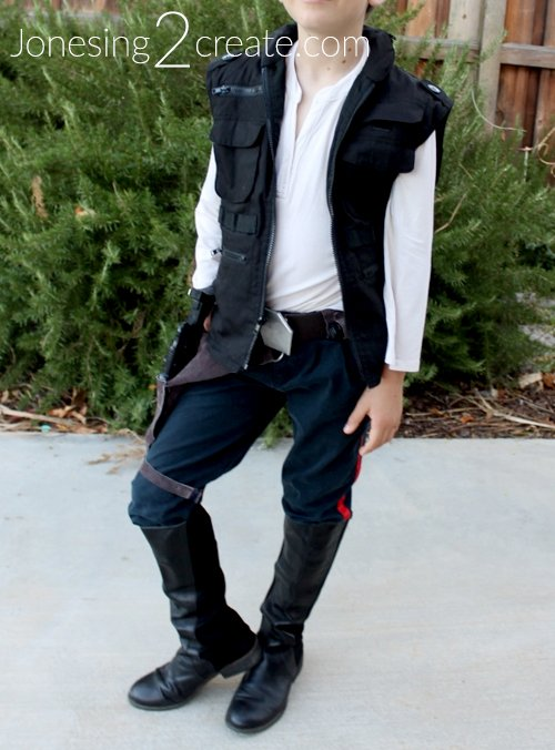 Homemade Han Solo Costume For Kids Jonesing2create