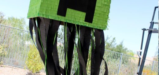 Minecraft Creeper Pinata Tutorial