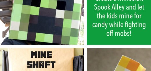 Minecraft Party Game – Spook Alley