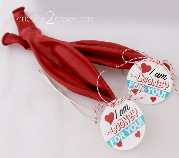 Boy Friendly Punch Balloon Valentine Printable