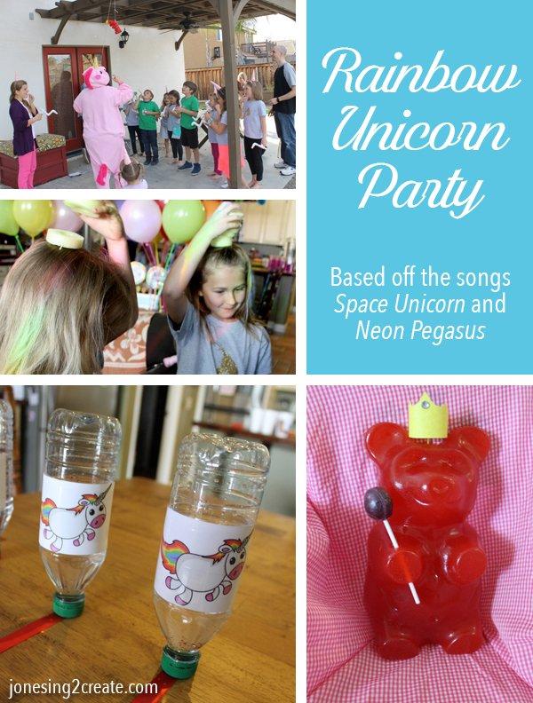 Perry Gripp Space Unicorn Birthday Party