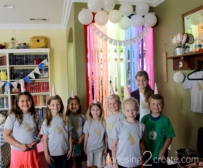 Rainbow Unicorn Party Game Ideas