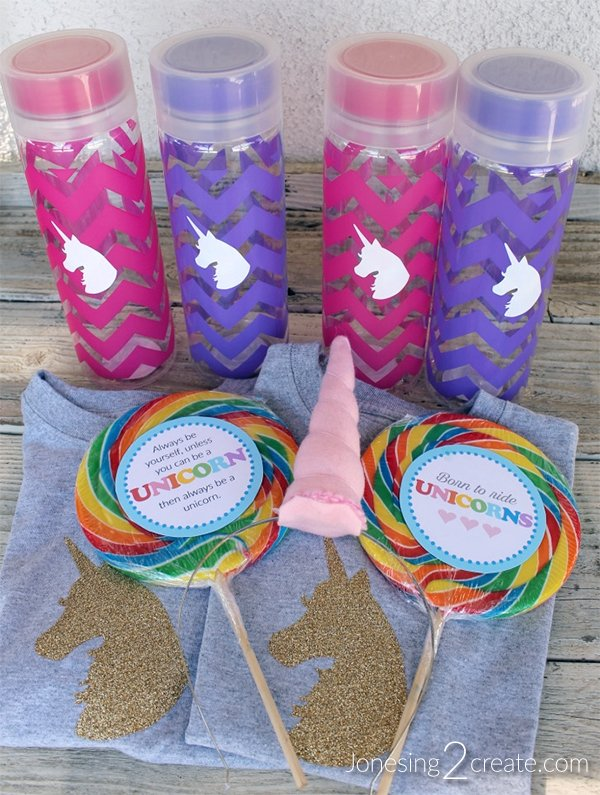 Rainbow Unicorn Party Favors