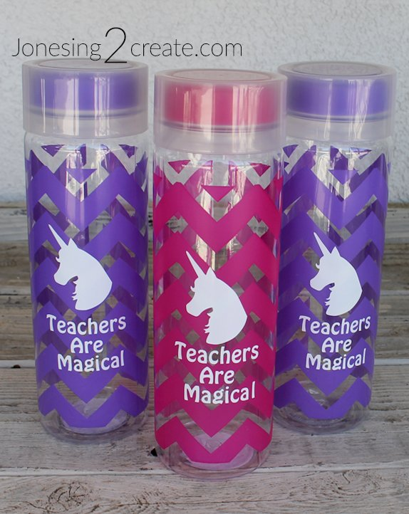 Unicorn Water Bottle Teacher Gifts
