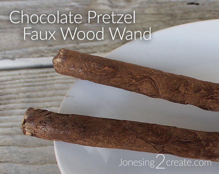 Chocolate Pretzel Wands