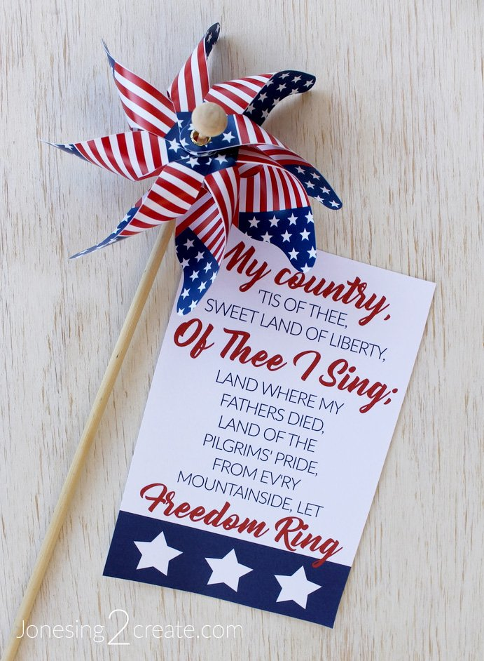 July 4th LDS Ministering Printable