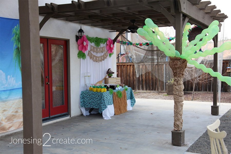 Moana Luau Birthday Party Decorations