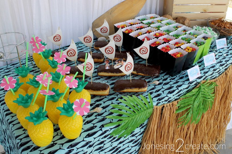 Moana Party Food