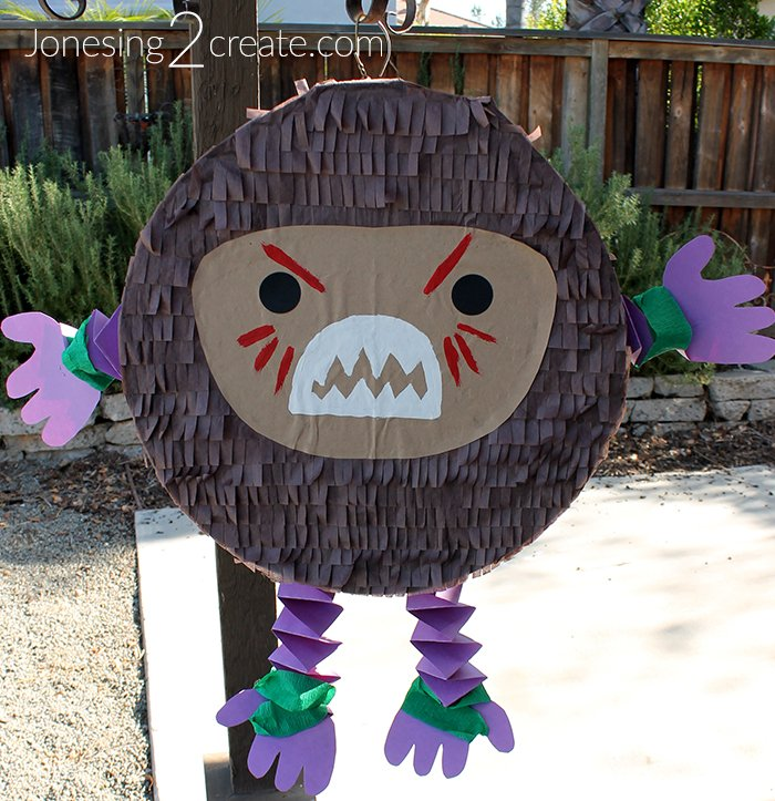 graphic relating to Kakamora Printable named Kakamora Pinata Guidebook - Jonesing2Crank out
