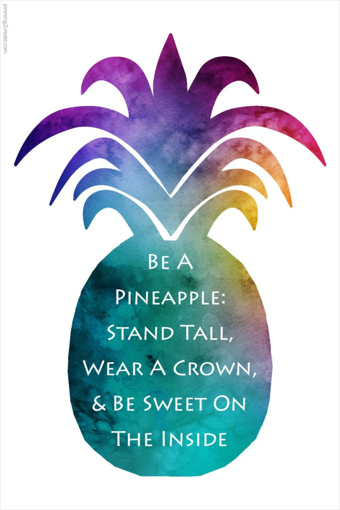photograph regarding Printable Pineapple identified as Divine Mother nature LDS Ministering Printable: Pineapple Quotation