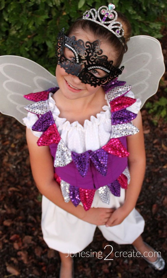 Fairy masquerade mask