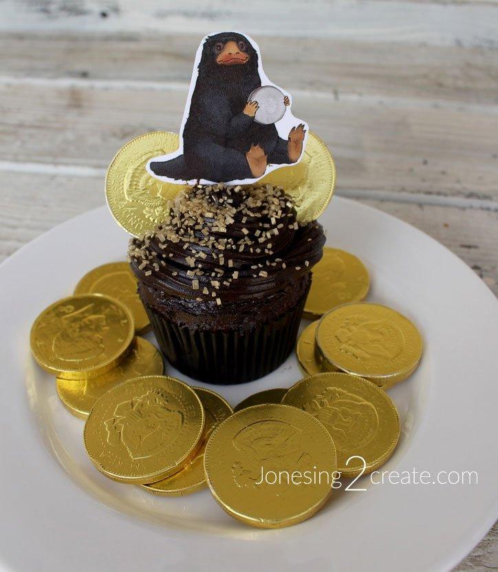Niffler Cupcake