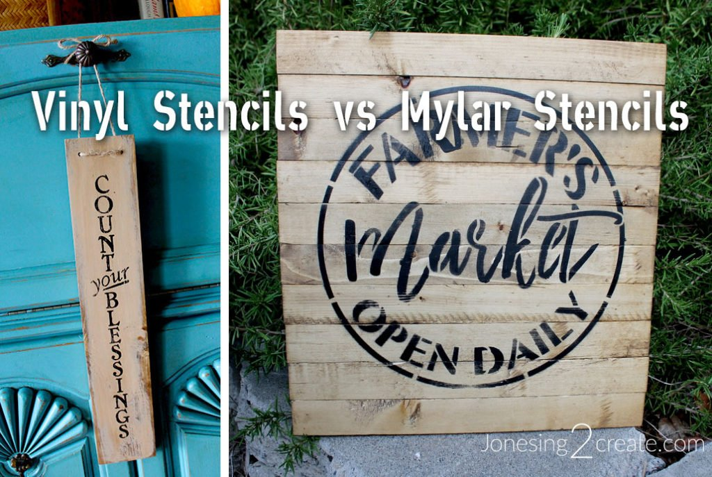 Vinyl Stencils vs Mylar Stencils