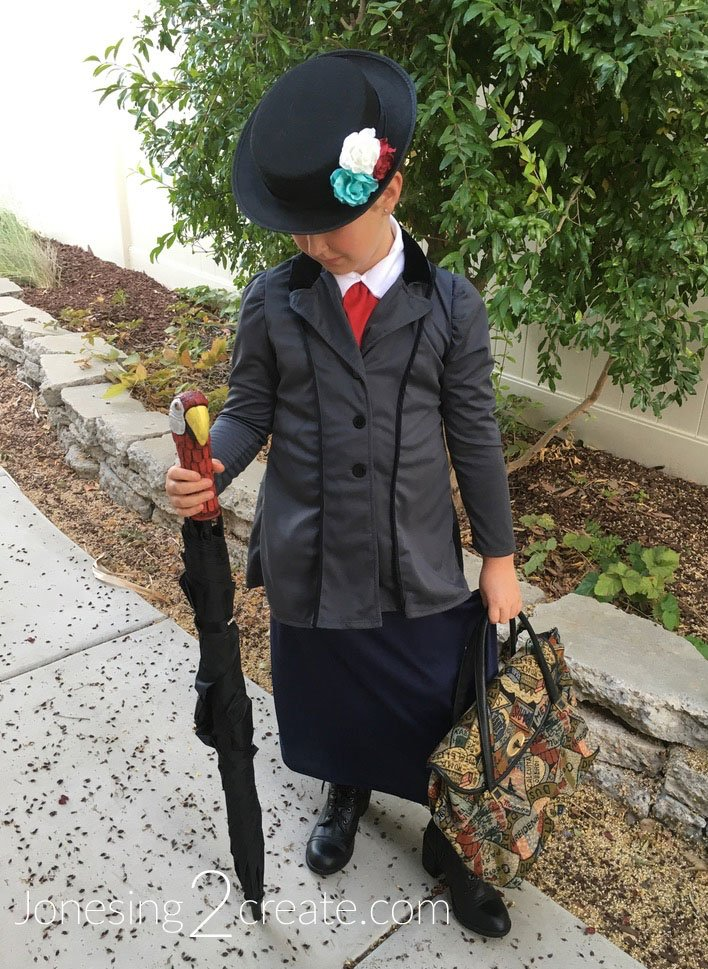 Child Mary Poppins Halloween Costume Hat