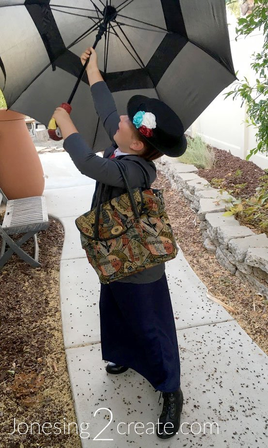 Child Mary Poppins Halloween Costume