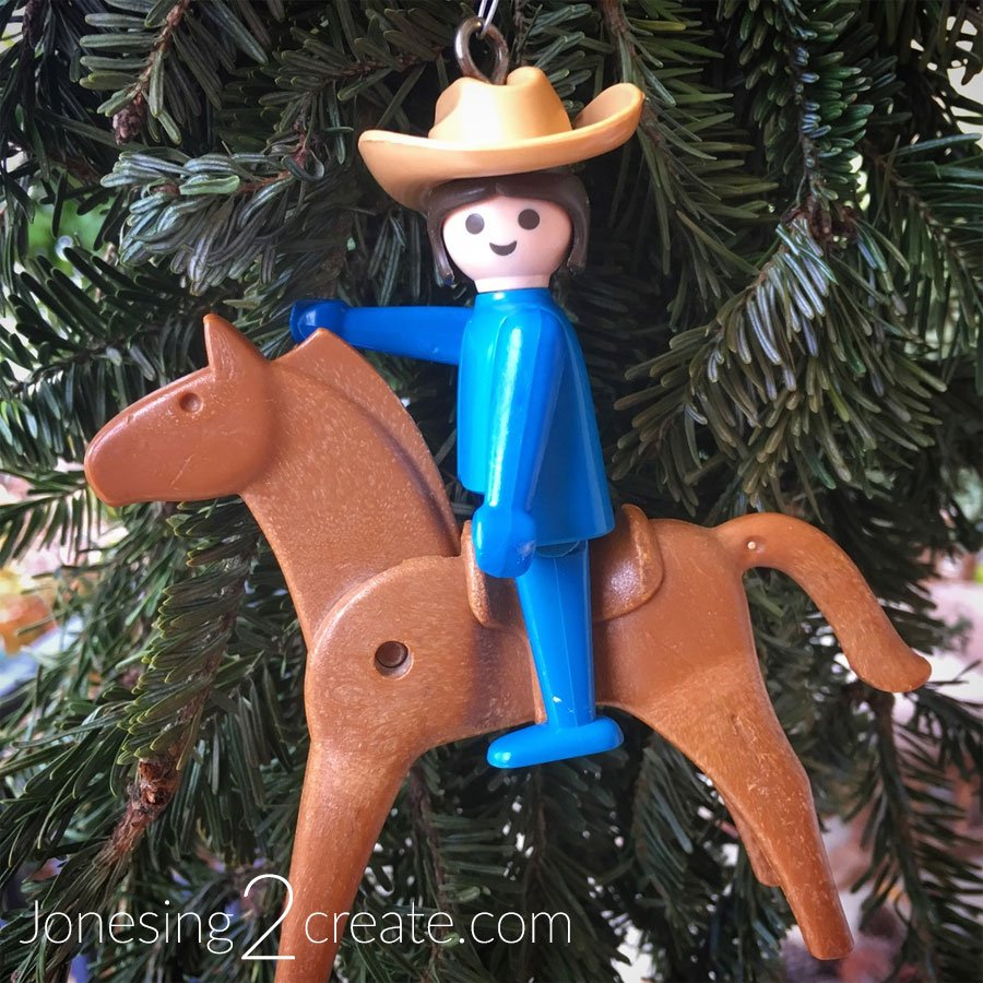 Playmobil Christmas Ornament