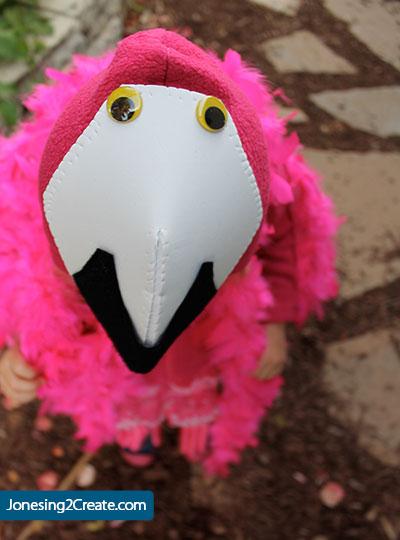 child-flamingo-costume