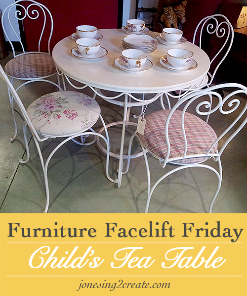 child's tea table