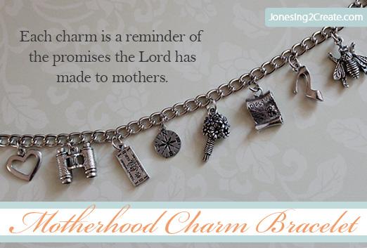 lds gifts motherhood charm bracelet
