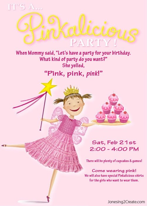 pinkalicious-invite