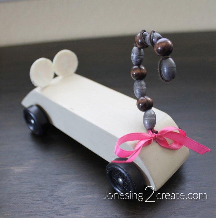 Mouse Pinewood Derby Car Jonesing2create