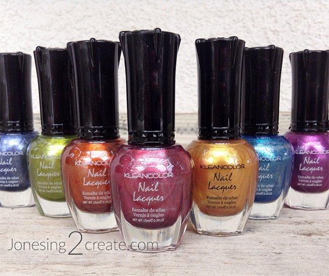 Rainbow Manicure