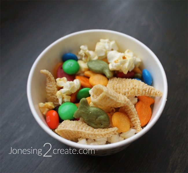 Rainbow Unicorn Snack Mix