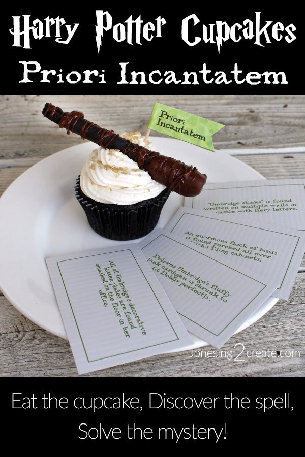 Harry Potter Wand Cupcakes