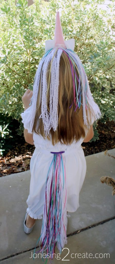 Child Unicorn Costume Tutorial